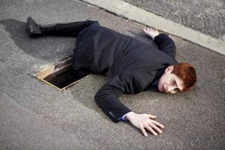 Wypadki w miejscu publicznym potkniecie na chodniku