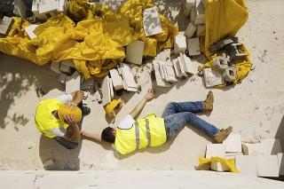 Wypadki w pracy wypadek na budowie